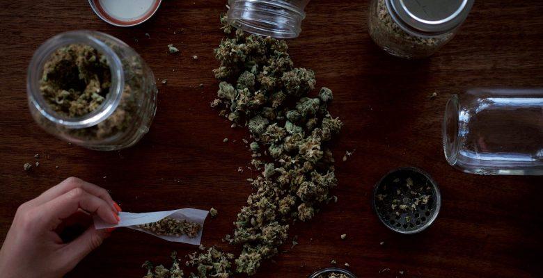 Image of Marijuana on a table